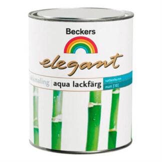 Beckers Elegant Aqua Lakmaling Mat 0,45 Liter