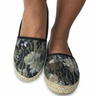 Black Unique Espadrillos