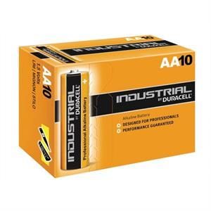Duracell Industrial - AA batterier - æske m. 10stk.