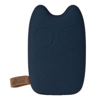 GreyLime Power Owl, 7800 mAh powerbank, Mørkeblå