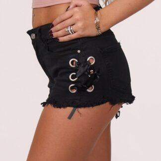 Haura Denim Shorts Sort Xs