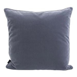 Semibasic - Velour pude grå - 45x45 cm