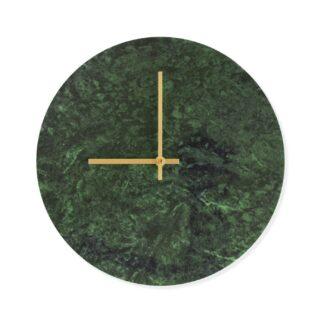 Ur i grøn marmor