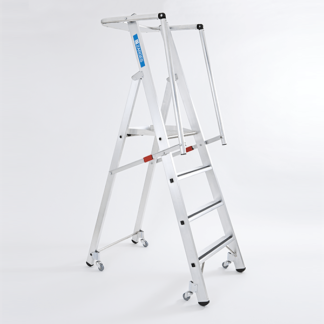 Zarges ZAP Safemaster S Stigeplatform 2Hf m/hjul-3,11